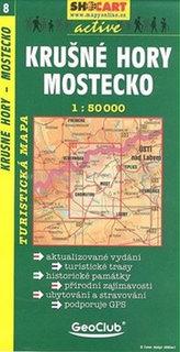 Krušné hory Mostecko 1:50 000