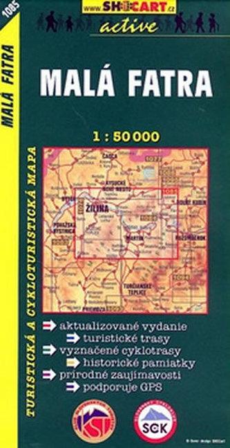 Mala Fatra mapa turystyczna 1:50 000