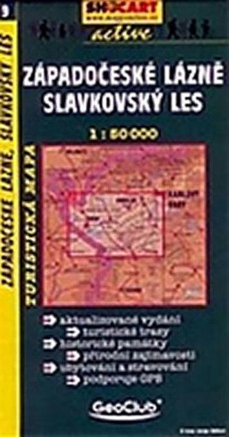 Západočeské lázně 1:50 000