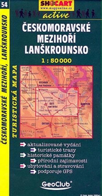 Českomoravské mezihoří Lanškrounsko 1:50T