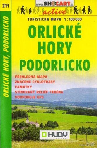 Orlické hory, Svitavsko 1:100 000