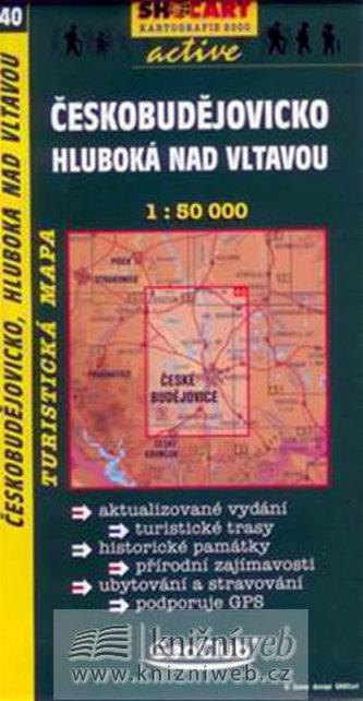Českobudějovicko Hluboká nad Vltavou1:50 000