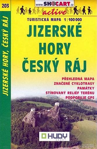 Jizerské hory Český ráj 1:100 000