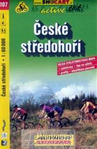 České středohoří 1:60 000