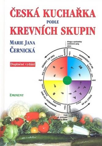 Česká kuchařka podle krevních skupin
