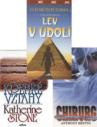 Balíček 3ks Chirurg + Křehké vztahy + Lev v údolí