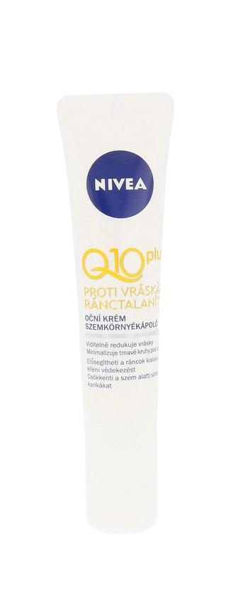 Nivea Q10 Plus Oční krém 15 ml pro ženy