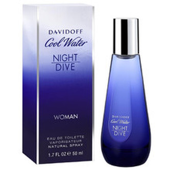 Davidoff Cool Water Night Dive For Women - EDT 50 ml woman
