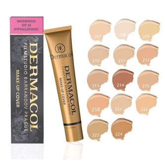 Dermacol Make-up Cover pro jasnou a sjednocenou pleť 30 g Odstín Odstín č. 209 woman