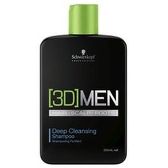 Schwarzkopf Professional Hloubkově čisticí šampon pro muže 3D (Deep Cleansing Shampoo) Hloubkově čisticí šampon pro muže 3D (Deep Cleansing Shampoo) - Objem 1000 ml man