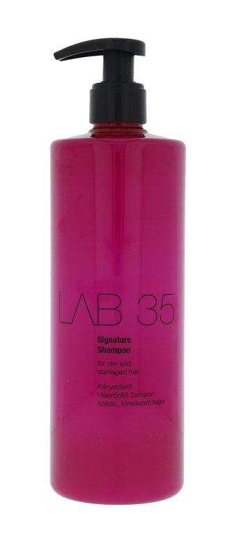 Kallos Regenerační šampon na suché a poškozené vlasy LAB 35 (Signature Shampoo) Regenerační šampon na suché a poškozené vlasy LAB 35 (Signature Shampoo) - Objem 500 ml woman