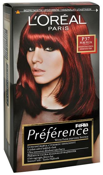 L´Oréal Paris Barva na vlasy Féria Préférence Barva na vlasy Féria Préférence - Odstín P37 Budapest woman