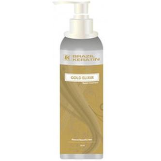 Brazil Keratin Elixír pro suché a poškozené vlasy (Gold Elixir Repair Treatment) Elixír pro suché a poškozené vlasy (Gold Elixir Repair Treatment) - Objem 50 ml woman