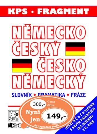 Německo český česko německý slovník, gramatika, fráze (velký plast)