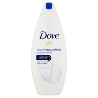 Dove Vyživující sprchový gel Deeply Nourishing (Nourishing Shower Gel) Vyživující sprchový gel Deeply Nourishing (Nourishing Shower Gel) - Objem 250 ml woman