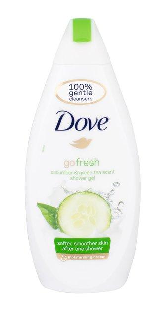 Dove Sprchový gel s vůní okurky a zeleného čaje Go Fresh (Fresh Touch Shower Gel) Sprchový gel s vůní okurky a zeleného čaje Go Fresh (Fresh Touch Shower Gel) - Objem 500 ml woman