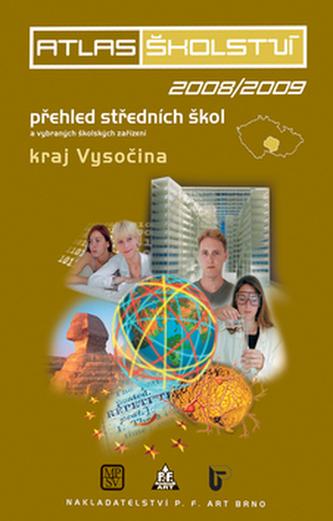 Atlas školství 2008/2009 kraj Vysočina