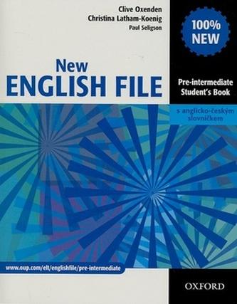 New English file preintermediate Student's Book, bez CD - Clive Oxenden; Christina Latham-Koenig