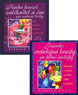 Balíček 2ks Kniha kouzel, zaříkadel a čar...+ Průvodce erotickými kouzly pro....