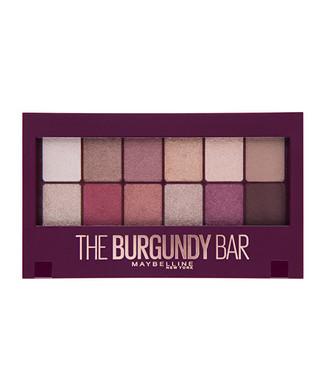 Maybelline Paletka očních stínů Burgundy (Bar Eyeshadow Palette) 9,6 g woman