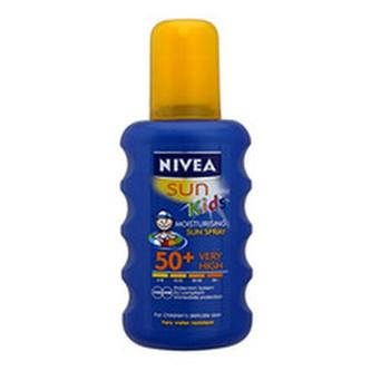 Nivea Dětský barevný sprej na opalování OF 50+ (Moisturising Sun spray) 200 ml child