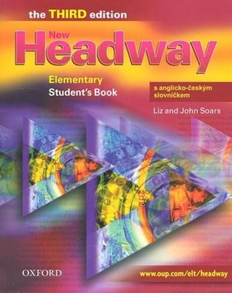 New Headway Elementary Third Edition Studenťs Book s anglicko-českým slovníčkem - Soars John
