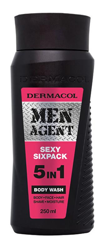 Dermacol Sprchový gel pro muže 5v1 Sexy Sixpack Men Agent (Body Wash) 250 ml man