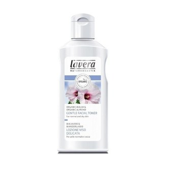 Lavera Hydratující pleťová voda Bio sléz & Bio mandle pro normální a suchou pleť (Gentle Facial Toner) 125 ml woman