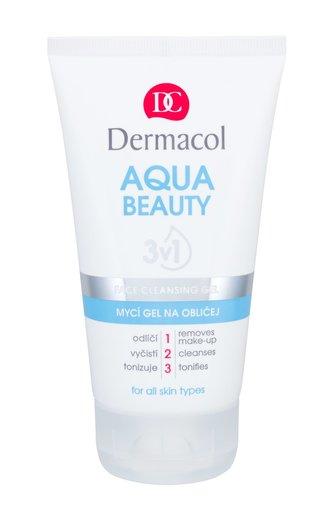 Dermacol Mycí gel na obličej s mořskými řasami Aqua Beauty 3v1 (Face Cleansing Gel) 150 ml woman