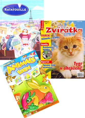 Balíček 2ks Ratatouille HC 64 + časopis Zvířátka