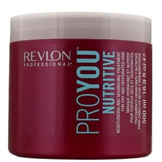 Revlon Professional Výživná maska na vlasy Pro You Nutrive Treatment (Hair Mask) Výživná maska na vlasy Pro You Nutrive Treatment (Hair Mask) - Objem 500 ml woman