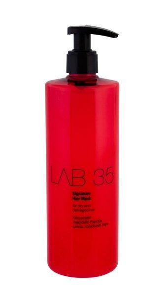 Kallos Maska pro suché a poškozené vlasy LAB 35 (Signature Mask) 500 ml woman