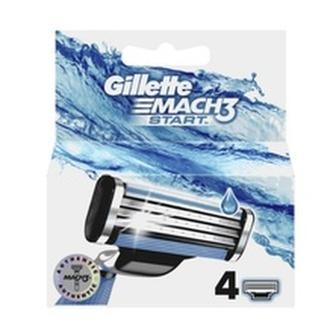 Gillette Náhradní hlavice Mach3 Start Náhradní hlavice Mach3 Start - Varianta 4 ks man