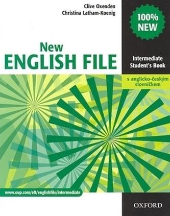 New English file Intermediate Studenťs Book s anglicko-českým slovníčkem