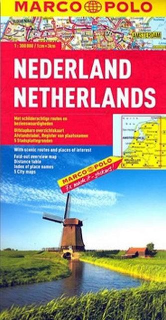 Nederland  Netherlands Niederlande Pays-Bas 1:300 000