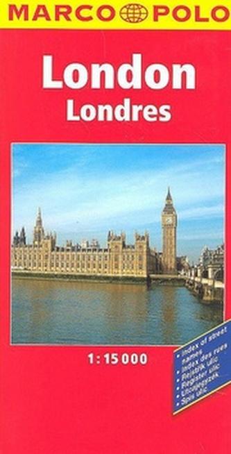 Londýn London Londres Londyn 1:15 000