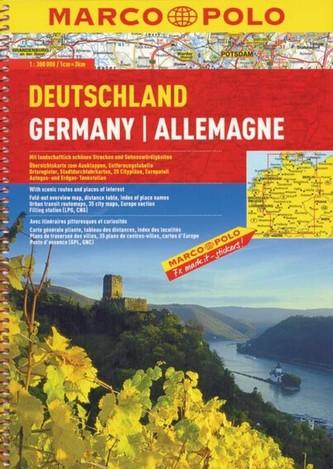Niemcy. Atlas drogowy 1:300 000