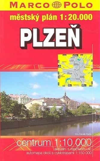 Plzeň knižní plán