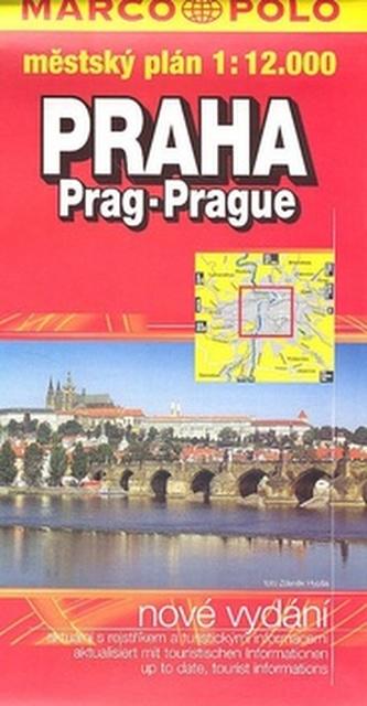 Praha Prag Prague 1:12 000