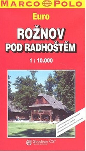 Rožnov pod Radhoštěm Euro 1:10 000
