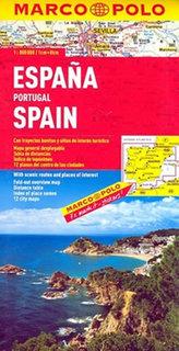 Španělsko Portugalsko1:800 000