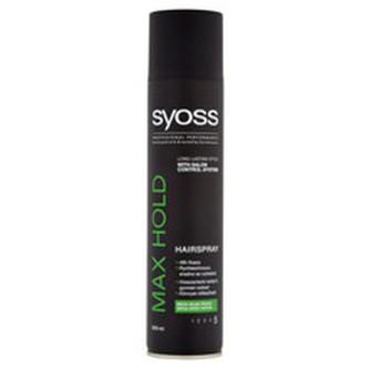 Syoss Lak na vlasy pro mega silnou fixaci Max Hold 5 (Hairspray) 300 ml woman