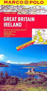 Velká Británie Irsko Great Britain 1:800 000