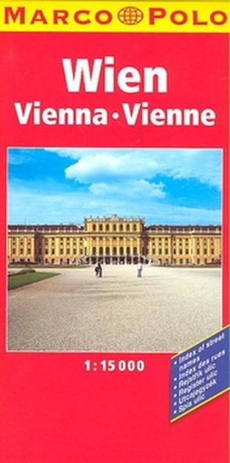 Wien Vienna Vienne 1:15 000