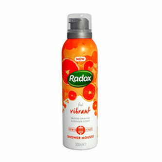 Radox Sprchová pěna Feel Vibrant (Shower Mousse) 200 ml unisex