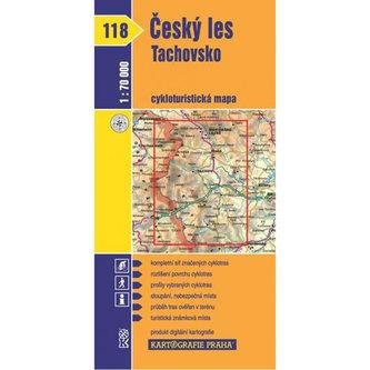 1: 70T(118)-Český les, Tachovsko (cyklomapa) - neuveden