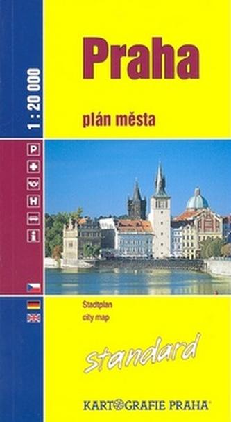 Praha plán města standard