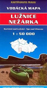 Vodácká mapa - Lužnice, Nežárka
