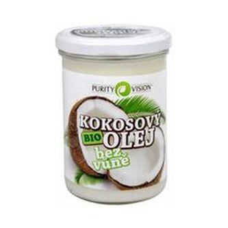 Purity Vision BIO Kokosový olej bez vůně BIO Kokosový olej bez vůně - Objem 420 ml unisex