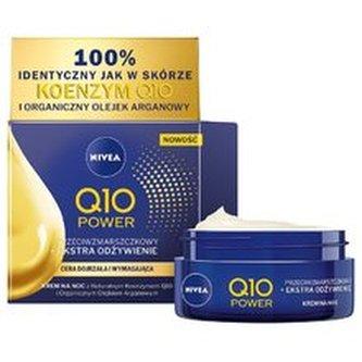 Nivea Výživný noční krém proti vráskám Q10 Power (Anti-Wrinkle Extra Nourishing Night Cream) 50 ml woman